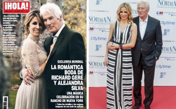 Актер и его третья жена Алехандра Сильва   Фото: 24smi.org
