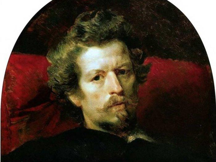 К. Брюллов. Автопортрет, 1848. Фрагмент | Фото: liveinternet.ru