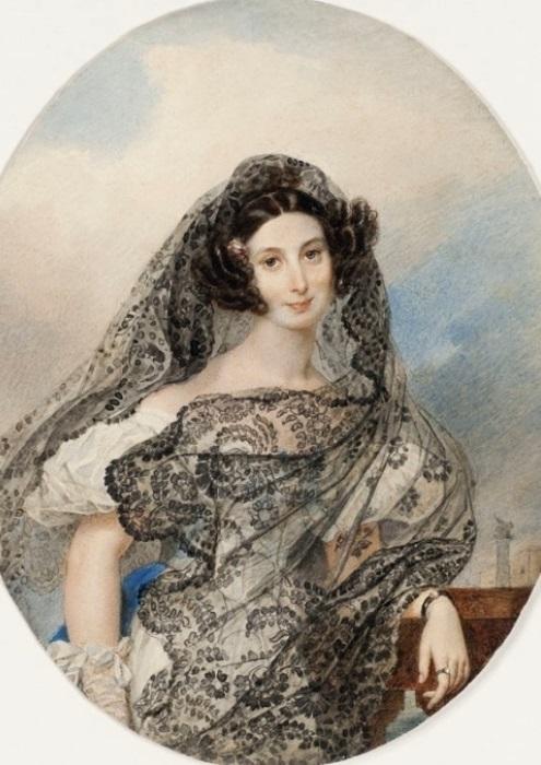 К. Брюллов. Портрет Джованины Пачини, ок. 1831 | Фото: art-catalog.ru