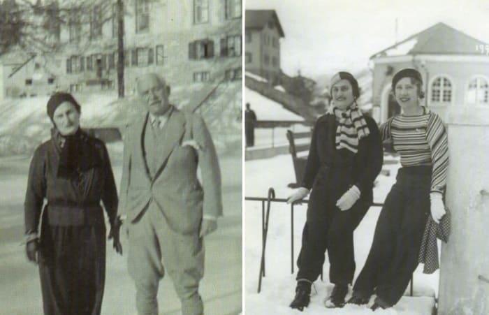Тамара Эристави с *королем нефти* Генри Детердингом и его супругой Лидией   Фото: anastasiarahlis.livejournal.com