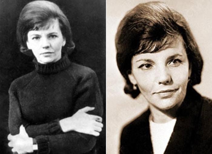 Одна из самых известных поэтесс второй половины ХХ в. | Фото: rimma-kazakova.ru и newizv.ru