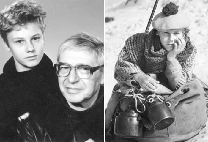 Руслан Курашов и Яков Сегель, сыгравший Роберта Гранта в экранизации 1936 г. | Фото: mk.ru