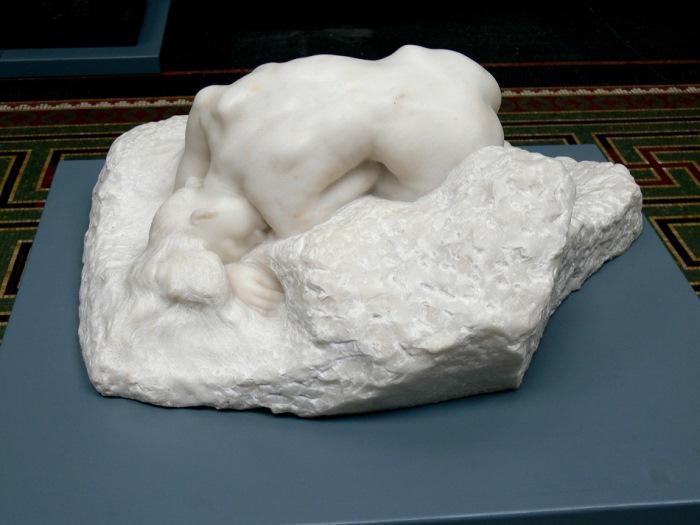 Огюст Роден. Данаида, 1885 – скульптура, посвященная Камилле Клодель | Фото: 365mag.ru