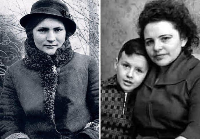 Родион Нахапетов с матерью | Фото: kino-teatr.ru, starhit.ru