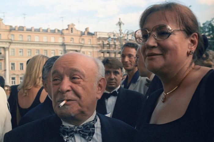 Ролан Быков и Елена Санаева, 1983 | Фото: aif.ru