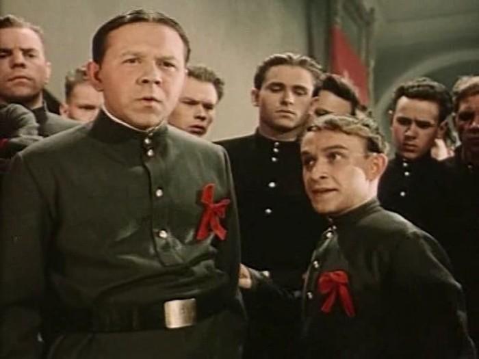 Ролан Быков в фильме *Школа мужества*, 1954 | Фото: kino-teatr.ru