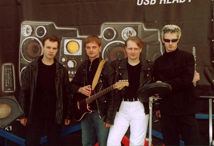 Группа *Технология* после воссоединения, 2003 | Фото: tehnologia.info