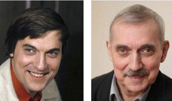 Евгений Киндинов в молодости и в зрелые годы | Фото: mk.ru