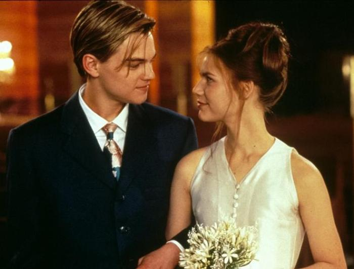 Кадр из фильма *Ромео+Джульетта*, 1996   Фото: kino-teatr.ru