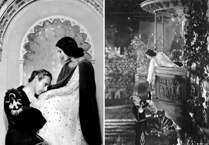 Лесли Говард и Норма Ширер в фильме *Ромео и Джульетта*, 1936   Фото: kino-teatr.ru