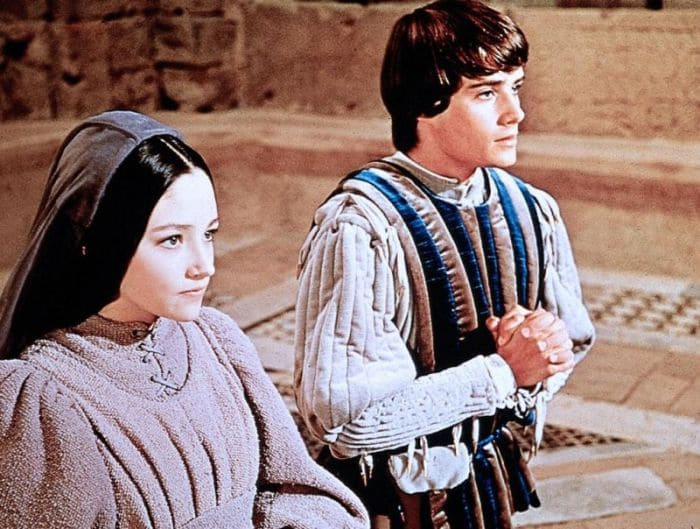Кадр из фильма *Ромео и Джульетта*, 1968   Фото: kino-teatr.ru