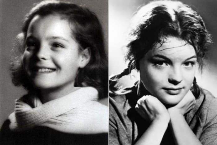 Роми Шнайдер в детстве | Фото: 24smi.org