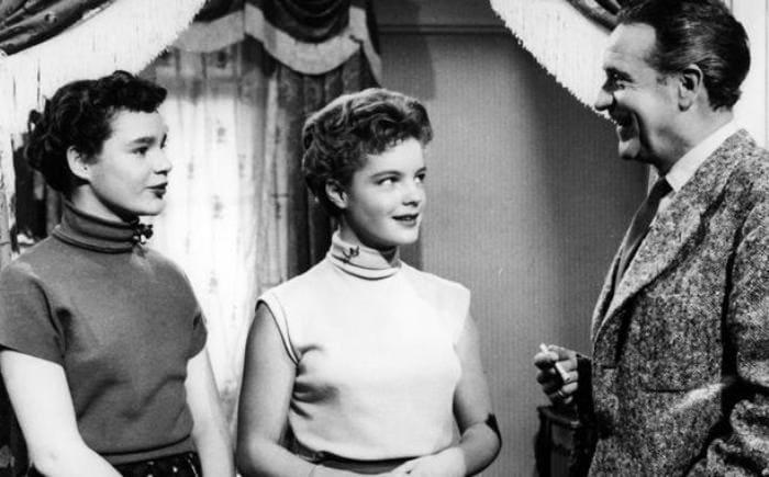 Дебютный фильм Роми Шнайдер – *Когда цветет белая сирень*, 1953 | Фото: dw.com