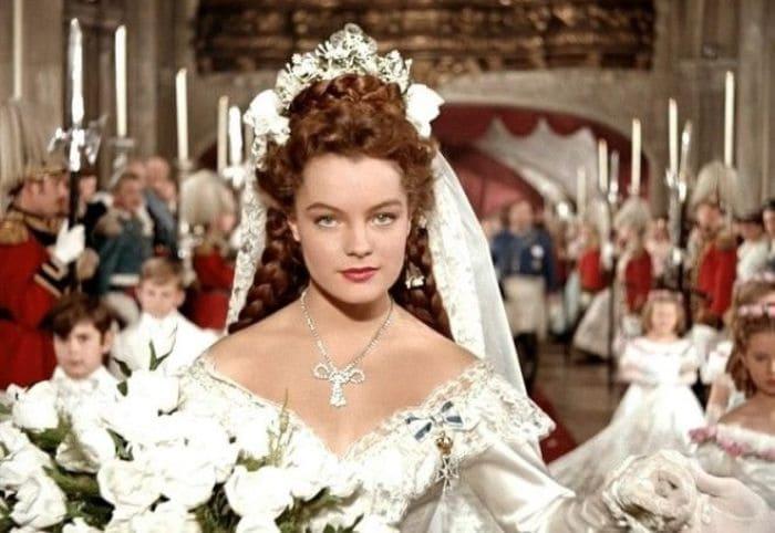 Роми Шнайдер в образе императрицы Елизаветы | Фото: interesno.cc