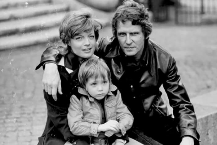 Роми Шнайдер, Гарри Мейен и их сын Давид | Фото: stories-of-success.ru