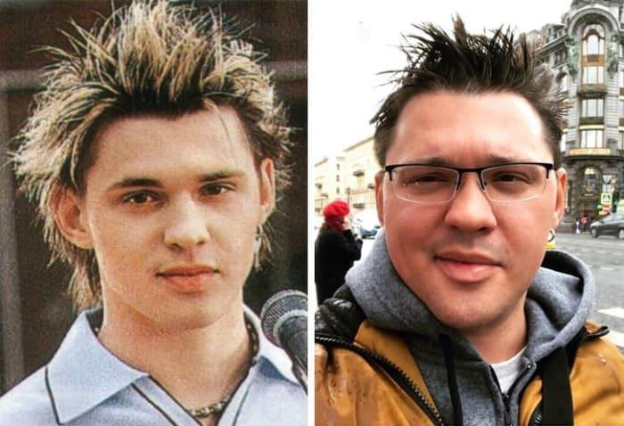 Алексей Кабанов тогда и сейчас   Фото: ru.sm.news