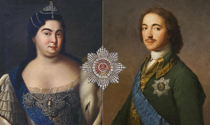 Марта Скавронская и Петр I | Фото: t-s.by