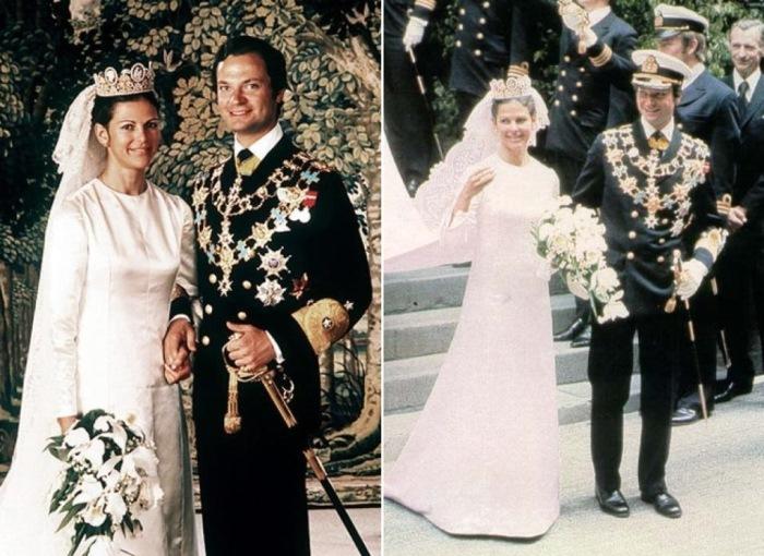 Король Швеции Карл ХVI Густав и Сильвия Зоммерлат | Фото: trud.ru и usa.publiboda.com