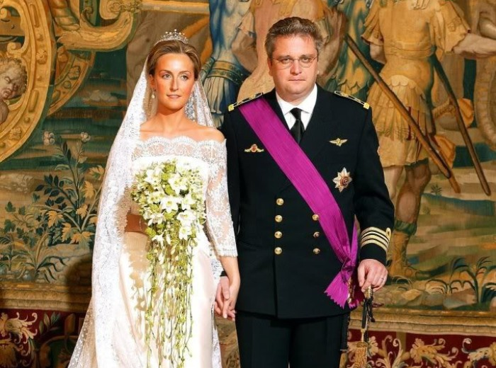 Принц Лоран Бельгийский и принцесса Клэр | Фото: portfolio.lesoir.be