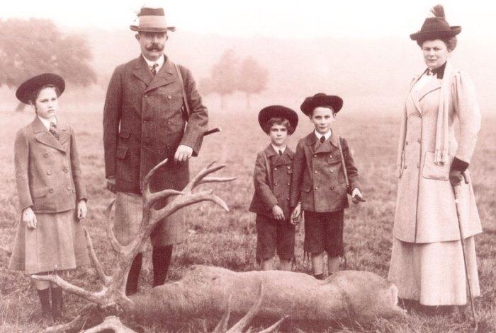 Эрцгерцог Франц Фердинанд с семьей | Фото: rusempire.ru