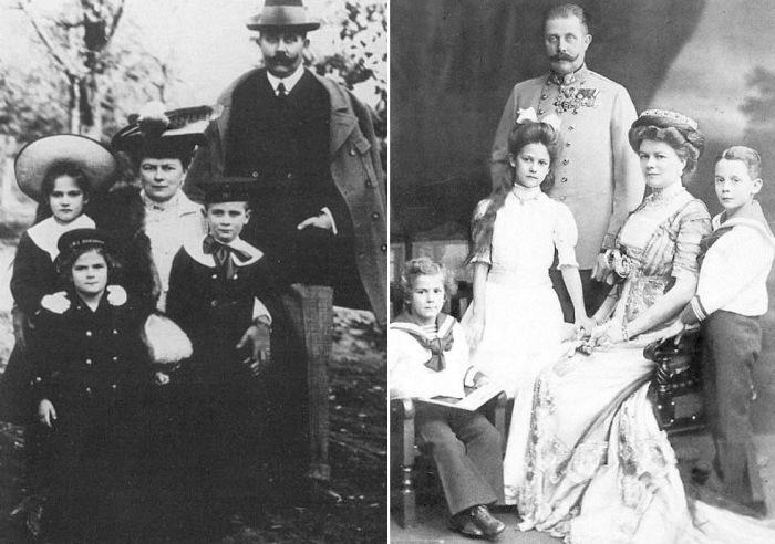 Эрцгерцог Франц Фердинанд с семьей | Фото: ru-royalty.livejournal.com