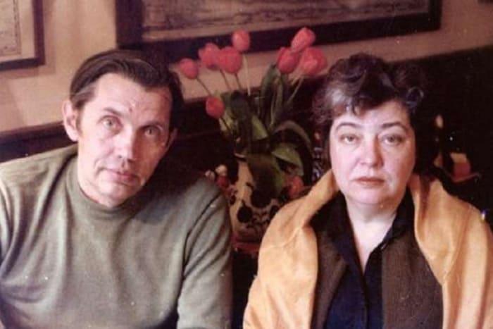 Поэт с женой, Аллой Киреевой | Фото: 24smi.org