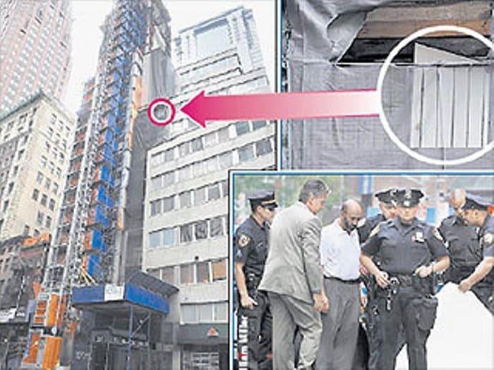 Тот самый дом на Манхэттене, где оборвалась жизнь Русланы Коршуновой | Фото: persona.rin.ru