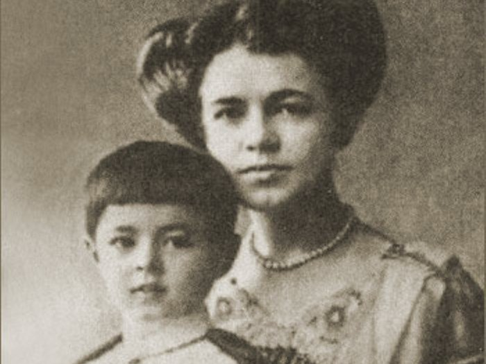 Екатерина Чакрабон-Десницкая с сыном