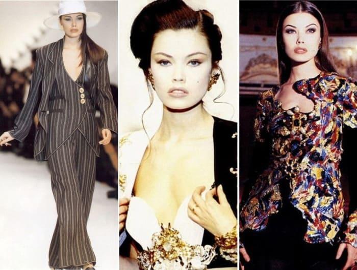 Топ-модель 1990-х Татьяна Сорокко | Фото: woman.ru и stuki-druki.com
