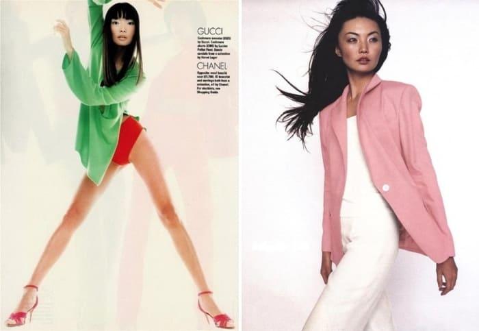 Топ-модель 1990-х Ирина Пантаева | Фото: stuki-druki.com