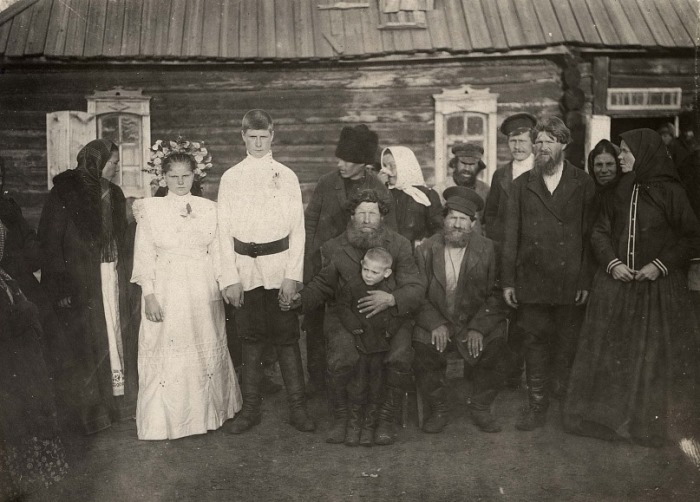 Свадьба. Канский уезд, деревня Карымова