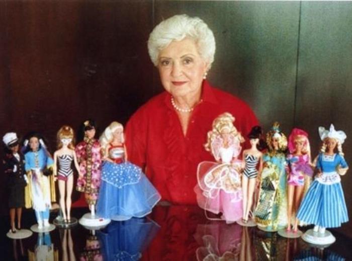 Создательница куклы Барби Рут Хэндлер | Фото: ubr.ua