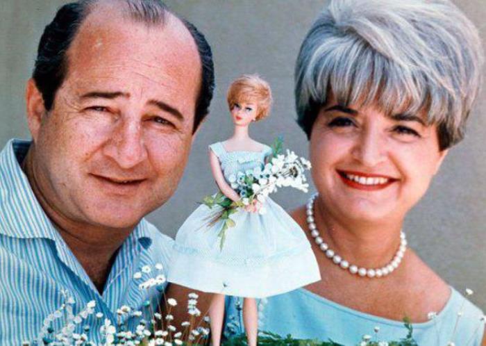 Супруги Хэндлер и кукла Барби, принесшая им миллионы | Фото: jewish.ru
