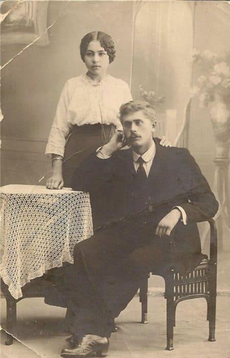 Ружена с отцом, певцом Владимиром Сикорой | Фото: amnesia.pavelbers.com