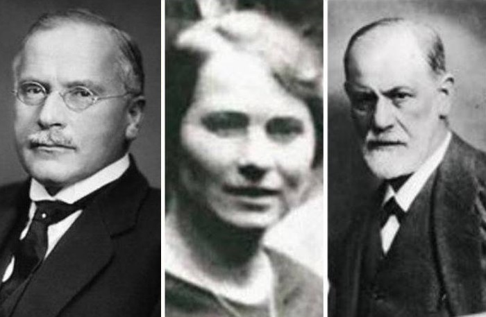 Карл Юнг, Сабина Шпильрейн и Зигмунд Фрейд | Фото: api.ning.com и bi.gazeta.pl