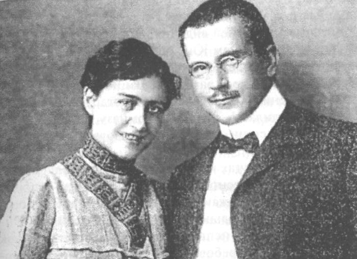 Карл Юнг с женой | Фото: historiosophy.ru