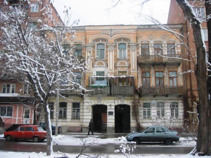 Дом в Ростове, где жила Сабина Шпильрейн, а сейчас находится ее музей | Фото: holocaust.su