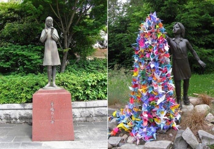 Памятники Садако Сасаки | Фото: nekropole.info