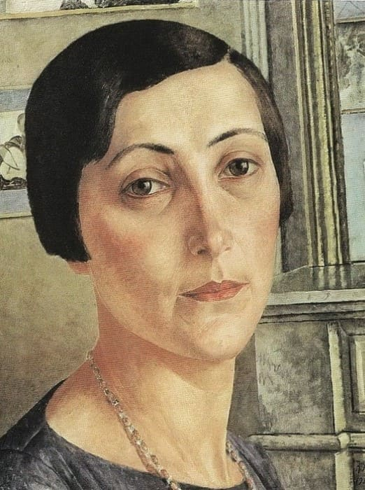 К. Петров-Водкин. Портрет Саломеи Андрониковой, 1925   Фото: liveinternet.ru