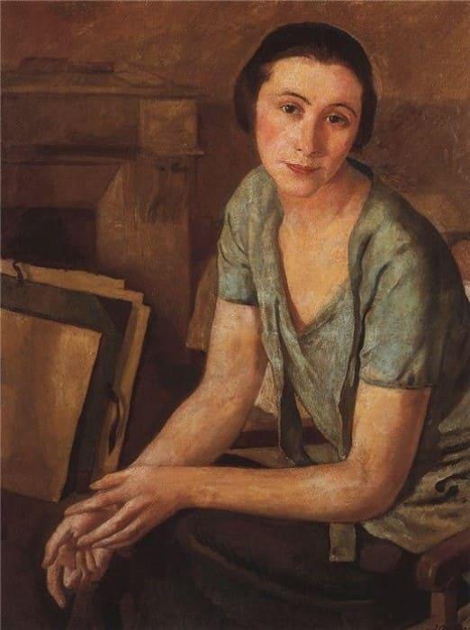 З. Серебрякова. Портрет Саломеи Андрониковой, 1925   Фото: liveinternet.ru