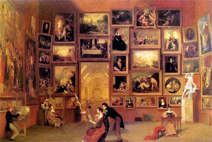 С. Морзе. Галерея Лувра, 1831-32 | Фото: gallerix.ru