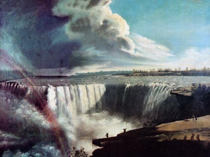 С. Морзе. Ниагара, 1835 | Фото: gallerix.ru