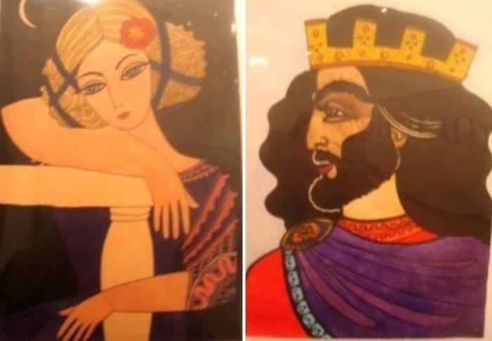 Саша Путря. Слева – *Печаль*, справа – *Царь* | Фото: livemaster.ru