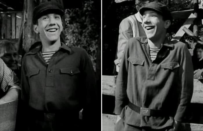 Кадры из фильма *Друг мой, Колька!*, 1961