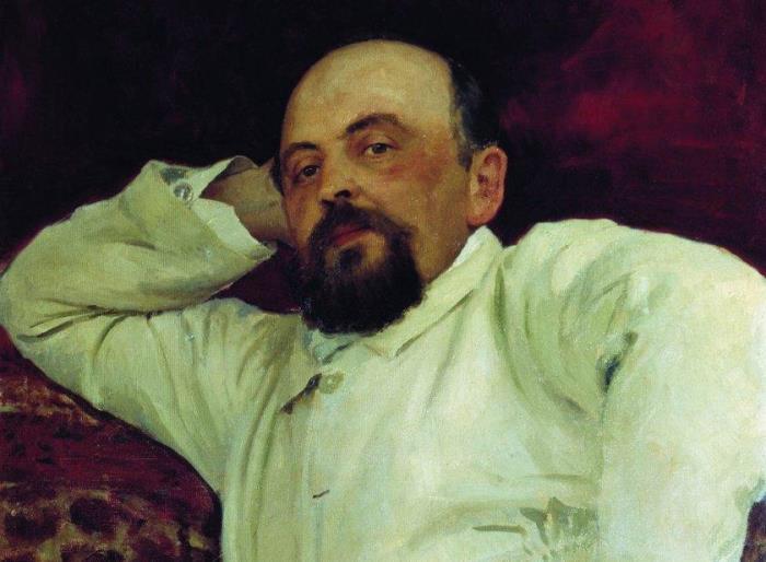И. Репин. Портрет С. И. Мамонтова, 1880. Фрагмент | Фото: liveinternet.ru