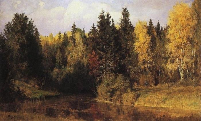 В. Поленов. Осень в Абрамцеве, 1890 | Фото: artchive.ru