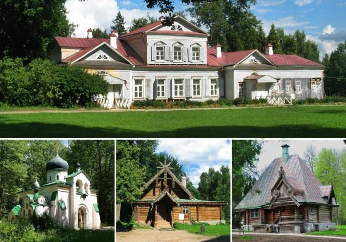 Усадьба, церковь и мастерские в Абрамцево | Фото: artchive.ru