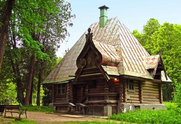 Баня-теремок в Абрамцево | Фото: artchive.ru
