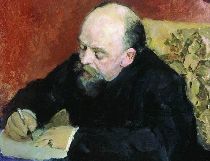 В. Серов. Портрет С. И. Мамонтова, 1891. Фрагмент | Фото: liveinternet.ru
