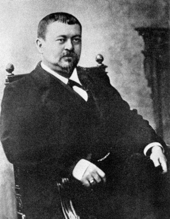 Знаменитый русский меценат Савва Морозов